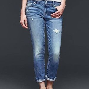GAP destructed best girlfriend jeans AB15